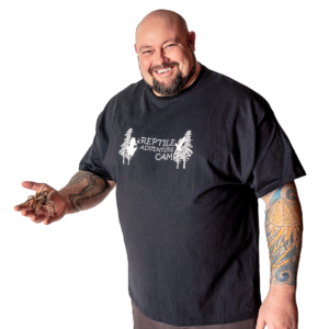 Reptile Adventure Camp T-Shirt Adult