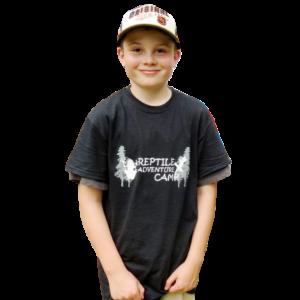 Reptile Adventure Camp T-Shirt Child